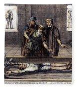 Torture, 16th Century Fleece Blanket