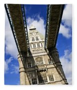 Tower Bridge In London Fleece Blanket
