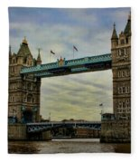 Tower Bridge London Fleece Blanket