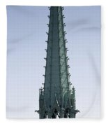 Tower Of Cathedral Fleece Blanket