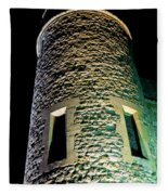 Tower Of London At Night Fleece Blanket
