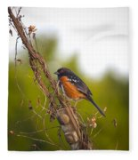 Towhee 2 Fleece Blanket