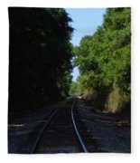 Tracks Fleece Blanket