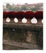Traditional Hue Fleece Blanket