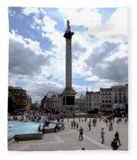 Trafalgar Square Fleece Blanket