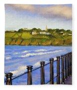 Tramore County Waterford Fleece Blanket
