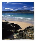 Tramore Strand And Loughros Mor Bay Fleece Blanket
