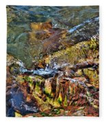 Transparent Tranquility  Fleece Blanket