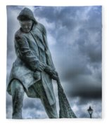 Trawlermens Memorial 2 Fleece Blanket
