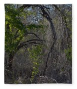 Tree Abstract  Fleece Blanket
