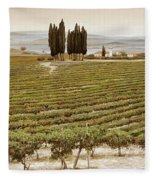 Tree Circle - Tuscany  Fleece Blanket