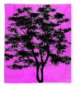 Tree Fleece Blanket