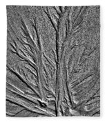 Tree Of Life In The Sands Of Time Hdr Conversion Fleece Blanket