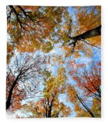 Treetops Fleece Blanket