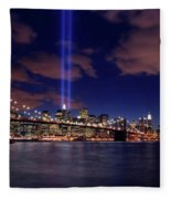Tribute In Light II Fleece Blanket