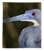 Tricolored Heron Fleece Blanket