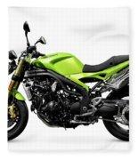 Triumph Speed Triple Motorcycle Fleece Blanket