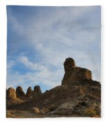 Trona Pinnacles 2 Fleece Blanket
