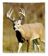 Trophy Buck Fleece Blanket