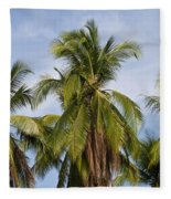 Tropical Cliche Fleece Blanket