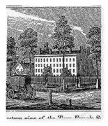 Troy Female Seminary, 1841 Fleece Blanket