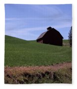 True Country Barn Fleece Blanket