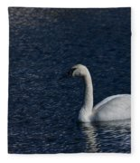Trumpeter Swan Fleece Blanket