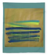 Tsunami II Fleece Blanket