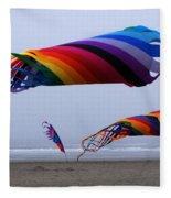 Go Fly A Kite 9 Fleece Blanket