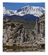 Tufa At Mono Lake California Fleece Blanket
