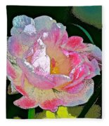 Tulip 44 Fleece Blanket