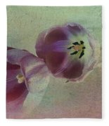 Tulip Reflections Fleece Blanket