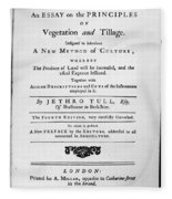 Tull: Title Page, 1762 Fleece Blanket