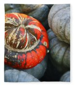 Turban Pumpkin Fleece Blanket