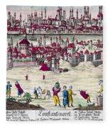 Turkey: Istanbul, C1820s Fleece Blanket