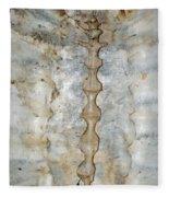 Turtle Spine Fleece Blanket