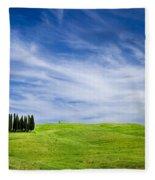 Tuscany Cypress Fleece Blanket