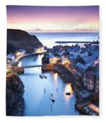 Twilight Glow Staithes Fleece Blanket