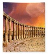 Twilight Of The Gods Fleece Blanket