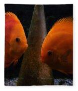 Twin Friends Malboro Fish  Fleece Blanket