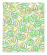 Twirls Fleece Blanket