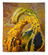 Two Gourds Fleece Blanket
