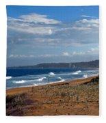 Typical Australian Beach Fleece Blanket