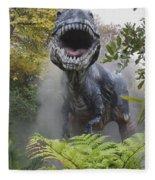 Tyrannosaurus Fleece Blanket