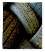 Tyres Fleece Blanket