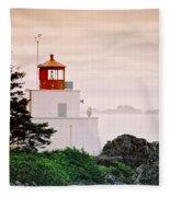 Ucluelet Lighthouse Fleece Blanket