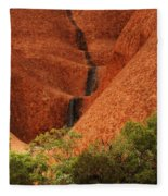 Uluru Australia 4 Fleece Blanket