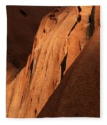 Uluru Australia 7 Fleece Blanket