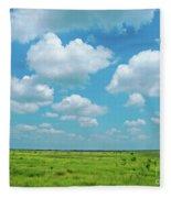 Under The Texas Sky Fleece Blanket