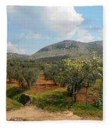 Under The Tuscan Skies Fleece Blanket
